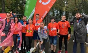 «Ростелеком» на Московском марафоне – бежим и помогаем