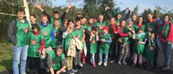 Волонтеры компании Coca-Cola HBC Россия и воспитанники детских домов присоединились к экологической акции «Сделаем!»