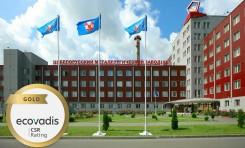За достижения в области корпоративной социальной ответственности БМЗ получил золотую медаль EcoVadis