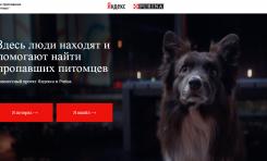 PURINA® объявила о запуске сервиса для поиска пропавших животных