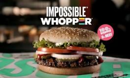 «Невозможные вопперы» из искусственного мяса вышли в продажу в Burger King