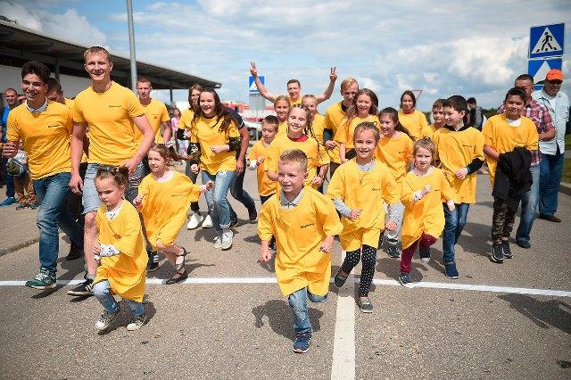 Шинный завод Continental в Калуге поддержал благотворительный фонд «Волонтеры – детям»