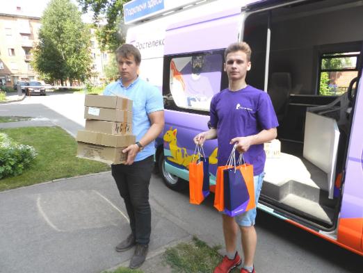 «Ростелеком» в Кузбассе поддержал акцию «Помоги собраться в школу»