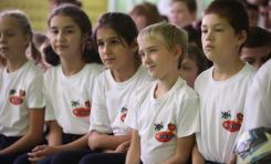 В Ермолинской школе-интернате после капитального ремонта открылся спортивный зал