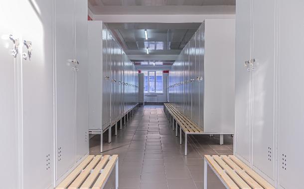 На «Азовстали» отремонтировали бытовые помещения сразу в четырех цехах