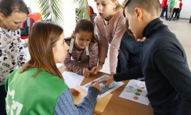В Кривом Роге стартовала экологическая образовательная программа для детей и родителей Green League
