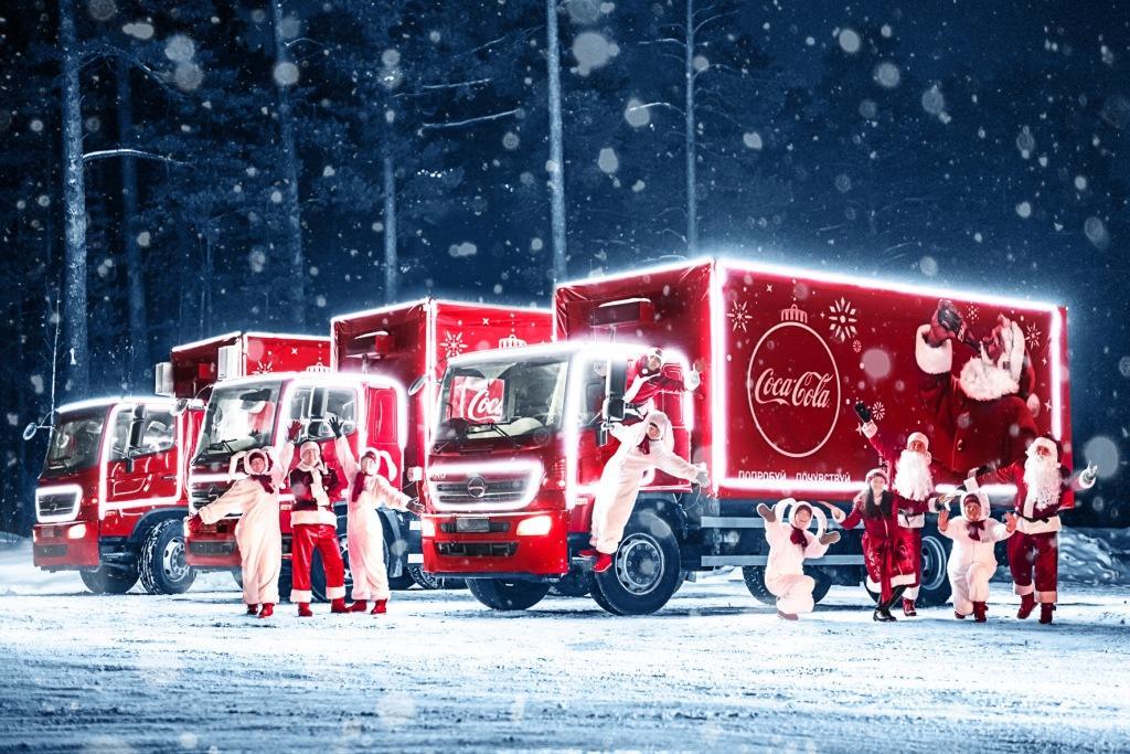 социальный проект «Рождественский караван Coca-Cola»