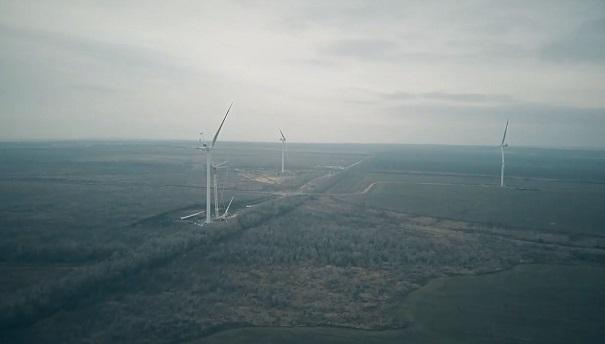Электроэнергия первого ветропарка в Ростовской области поступила на оптовый рынок