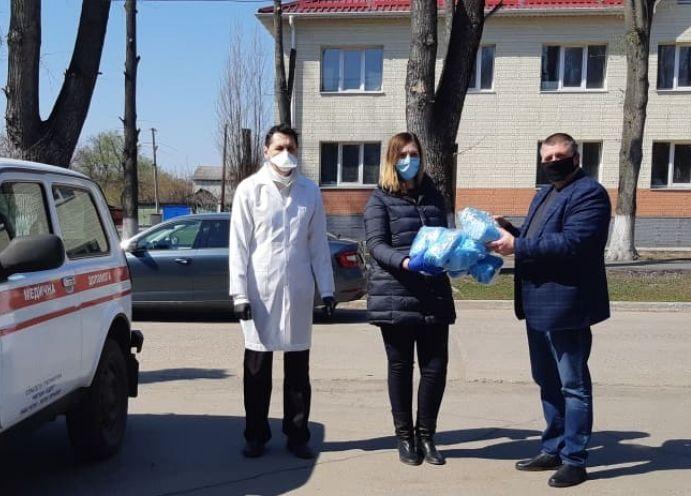 Метинвест передал медикам районных больниц 15 000 масок