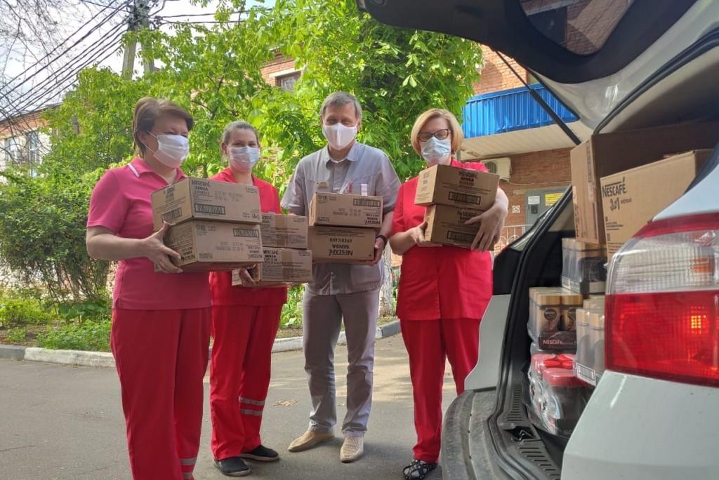 «Нестле Россия» предоставила более 120 тонн продукции  на благотворительные нужды в период пандемии